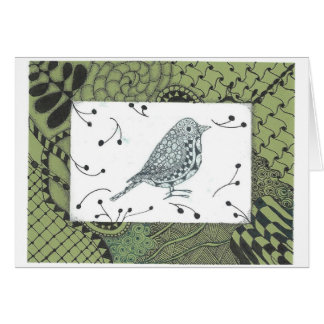 Zen Bird All Occasion Greeting / Note Card