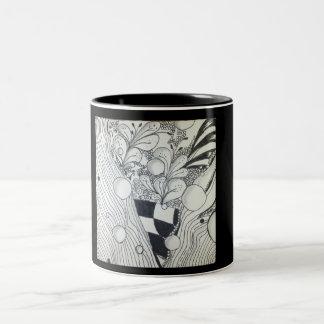 Zen Black and White Mug