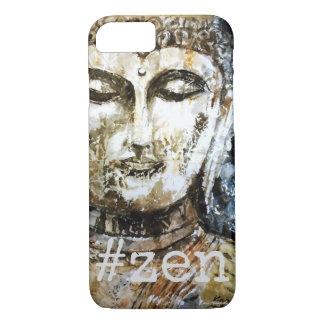 #Zen Buddha Watercolor Art Phone Case
