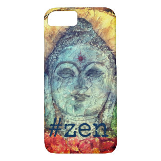 #Zen Buddha Watercolor Art Phone Case