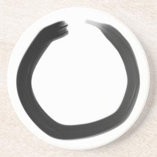 Zen Buddhist Enso Circle Coaster