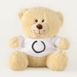 Zen Buddhist Enso Circle Teddy Bear