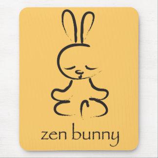 Zen Bunny Mouse Pad