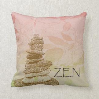 Zen Cairn Throw Pillow