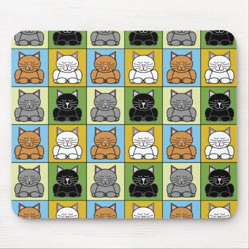 Zen Cat Mousepad