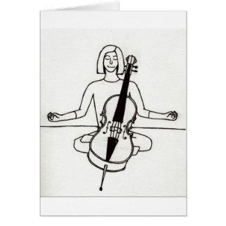 Zen Cellist card