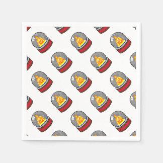 Zen Christmas Designs Paper Napkin