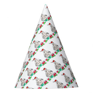 Zen Christmas Designs Party Hat