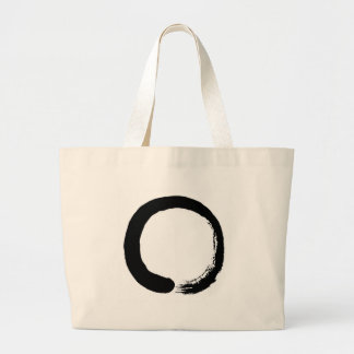 Zen Circle Large Tote Bag