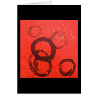 Zen Circles Blank Card