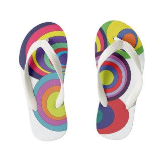 Zen Circles Kid's Flip Flops