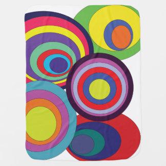 Zen Circles Swaddle Blanket