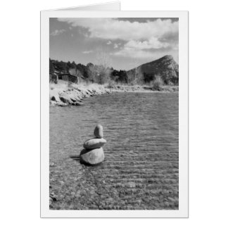 Zen Dreams greeting card by Mark Easton