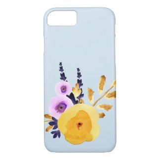 Zen floral watercolor iPhone case