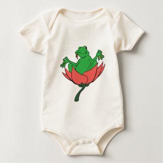 Zen Frog Baby Bodysuit