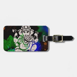 Zen Ganesh Luggage Tag