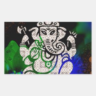 Zen Ganesh Sticker