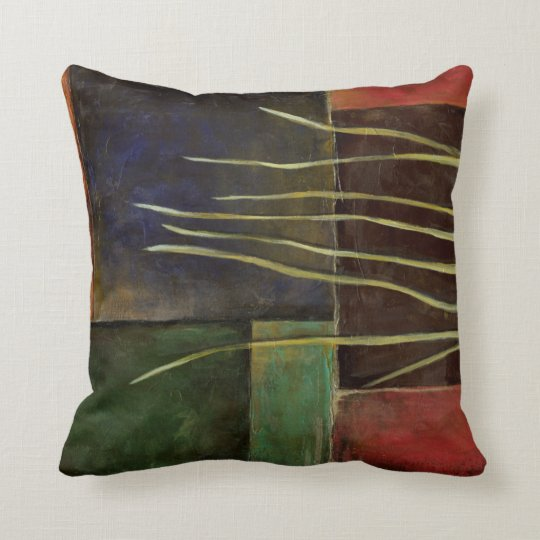 Zen Garden I Throw Pillow