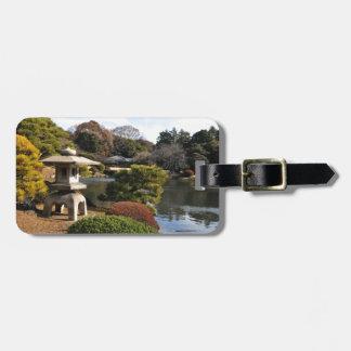 Zen garden in Tokyo, Japan Bag Tag