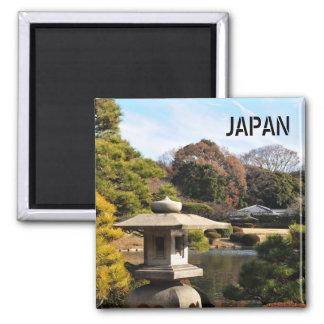 Zen garden in Tokyo, Japan Magnet