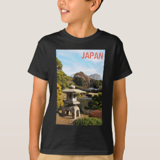 Zen garden in Tokyo, Japan T-Shirt