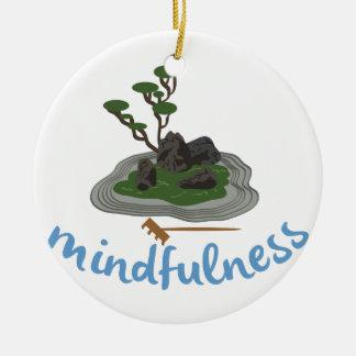 Zen Garden Mindfulness Ceramic Ornament