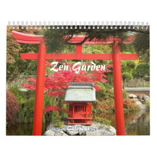 Zen Garden Photographic Wall Calendar
