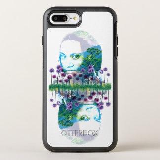 Zen Garden Woman Asian Bonsai + Purple Allium OtterBox Symmetry iPhone 7 Plus Case