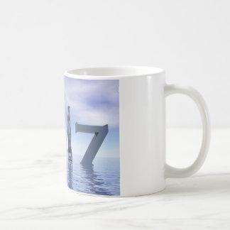 Zen happy new year 2017 - 3D render Coffee Mug