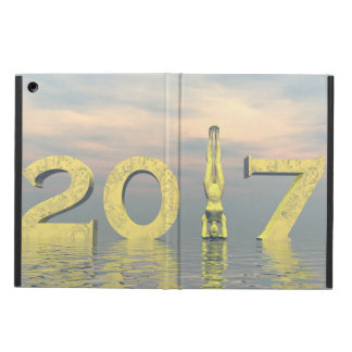 Zen happy new year 2017 - 3D render iPad Air Cover
