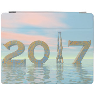 Zen happy new year 2017 - 3D render iPad Cover