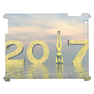 Zen happy new year 2017 - 3D render iPad Cover