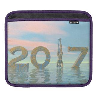 Zen happy new year 2017 - 3D render iPad Sleeve