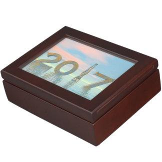 Zen happy new year 2017 - 3D render Memory Box