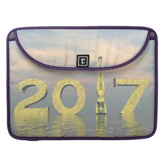 Zen happy new year 2017 - 3D render Sleeve For MacBooks