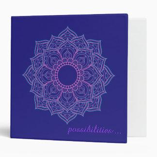 Zen Holistic Mandala Possibilities Binder