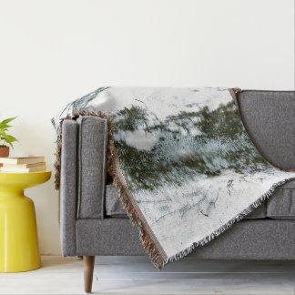 Zen II Throw Blanket