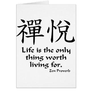 Zen Joy - Life Card