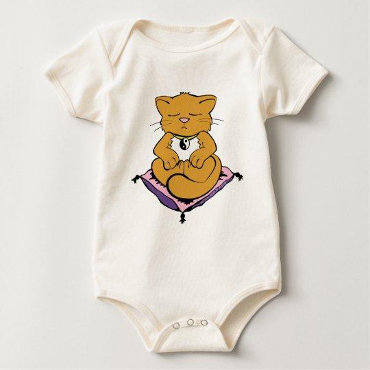 Zen Kitten Baby Bodysuit
