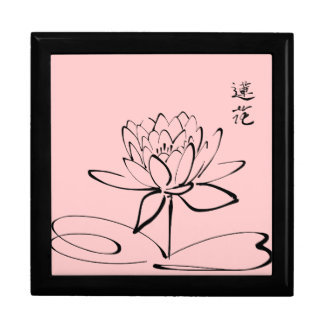 Zen Lotus Flower Gift Box