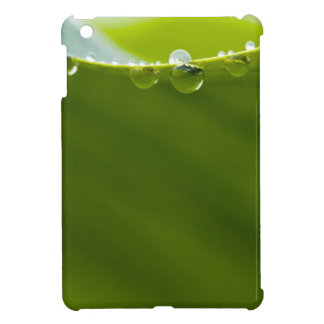 Zen Love Green Lotus Leaf  Water Drop Cover For The iPad Mini