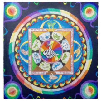 Zen Mandala Napkin