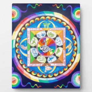 Zen Mandala Plaque