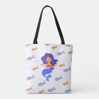 Zen Mermaid Power of Oneness Tote Bag