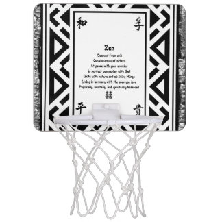 Zen Mini Basketball Hoop