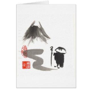 Zen Monk on Journey Card