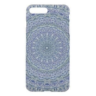 Zen Navy and yellow Mandala iPhone 8 Plus/7 Plus Case