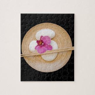 Zen Orchid Jigsaw Puzzle