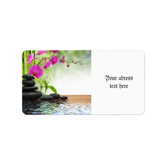 zen,peace,pink orchid,beautiful,spa,healing,yoga,c label