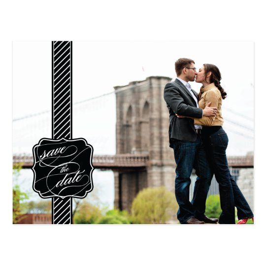 Zen Photo Save the Date Post Card